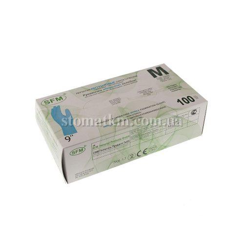 Перчатки нитриловые SFM (50пар)