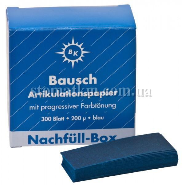 Бумага артикуляционная Бауш (Bausch) BK-01 200мк.