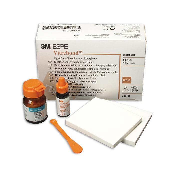 Витребонд (Vitrebond™) 7510 стеклоиномерная прокладка 9г. + 5,5мл.