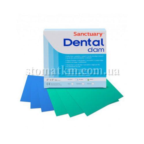 Платки для коффердама Dental Dam