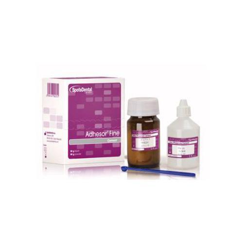 Адгезор файн (Adhesor Fine) цинкфосфатный цемент химического отверждения (80г + 55мл)
